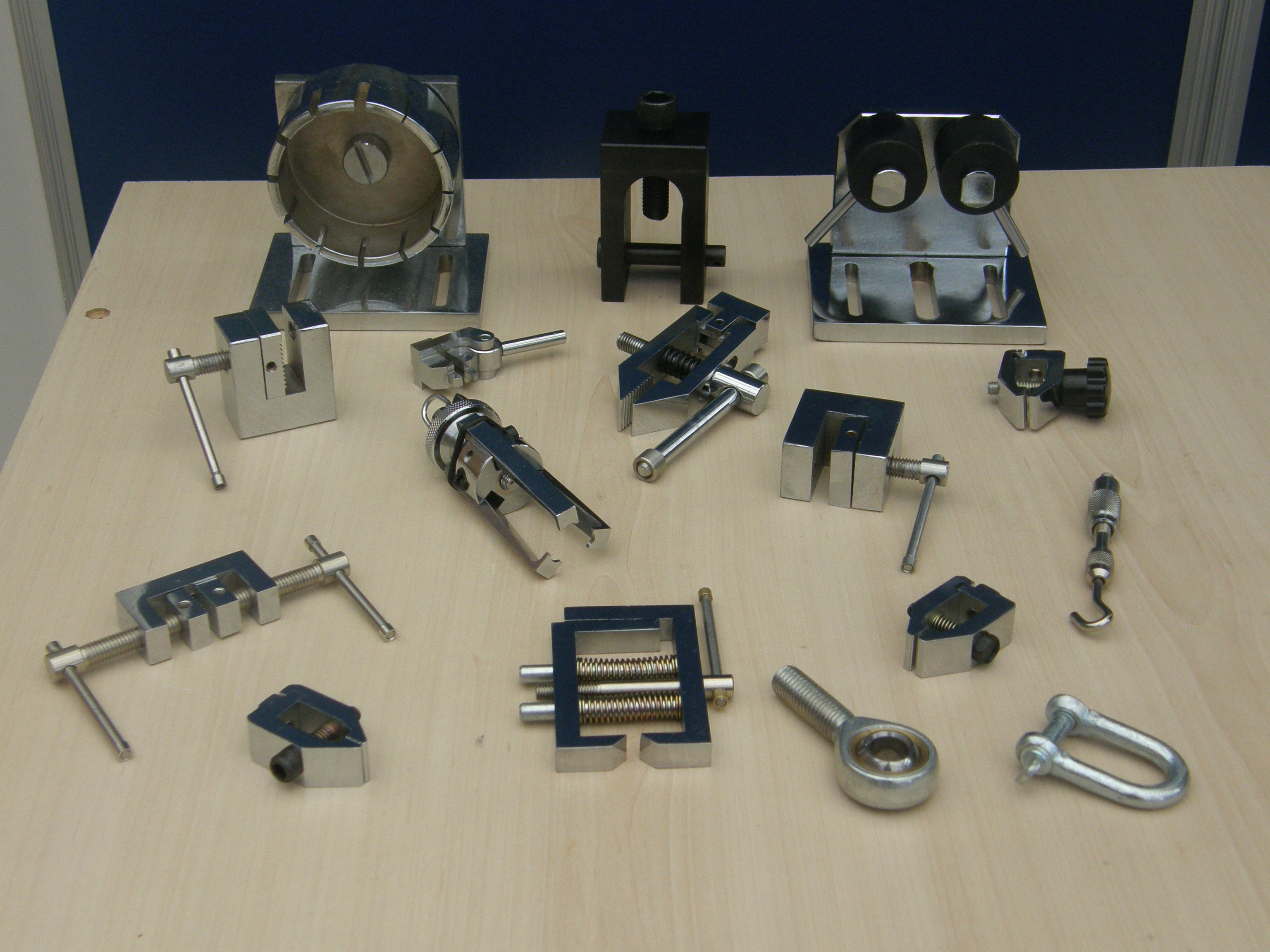 Force Testing Clamp Selection